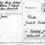 Postkarte Münch-Holland, Vorderseite