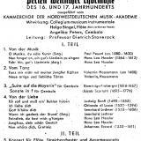 Programmzettel, 1947