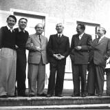 N.N., Hans Richter-Haaser, Otto Schad, Frederik Husler, Hans Münch-Holland, Max Strub