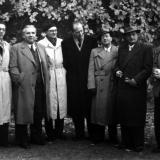 N.N, Max Strub, Helmut Winschermann, Michael Schneider, Albert Hennige, Hans Münch-Holland, N.N