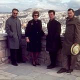 Jost Michaels, Gabriele Smith, Erhard Neborg, Gustav Neudecker, Asien-Reise 1963