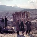 Jost Michaels, Gabriele Smith, Albert Hennige, Athen 1963