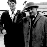 Jürgen Brüggebors und Tibor Varga