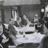 Kammerorchester im Zug
