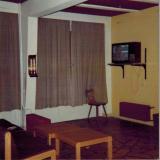 Studentenwohnheim, Fernsehecke im Aufenhaltsraum