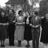 Studenten in Hiddesen, 1948