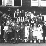Bewohner Studentenheim, 1948