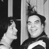 Fasching 1953: Renate Fischer, Conrad Hansen