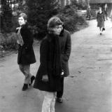 links Adelheid Geiling, rechts Helga Westerbeck